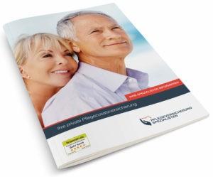 Fordern Sie unser kostenloses Pflegeversicherung Infopaket an.