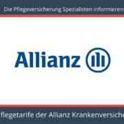 Die Pflegeversicherung Spezialisten informieren - Pflegeversicherung Allianz Krankenversicherung