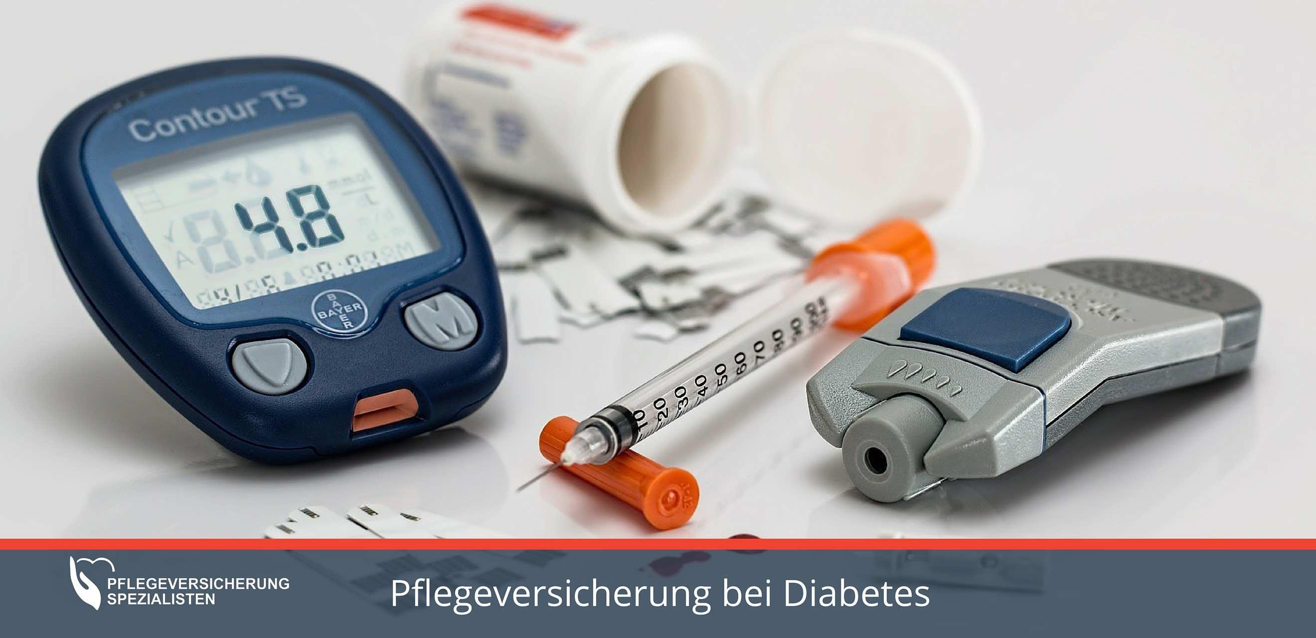 Die Pflegeversicherung Spezialisten informieren über Tips und Tarife bei Diabetes Mellitus