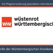 Die Pflegeversicherung Spezialisten informieren Pflegeversicherung Württembergische Krankenversicherung - Stiftungwarentest Sieger PTPU