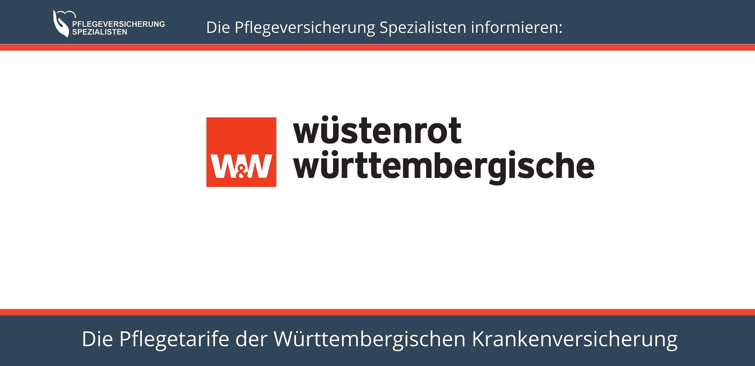 Die Pflegeversicherung Spezialisten informieren über die Pflegetarife der Württembergischen Krankenversicherung - Stiftungwaretest Sieger PTPU