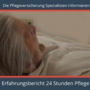 Die Pflegeversicherung Spezialisten informieren über einen Erfahrungsbericht 24 Stunden Pflege - kostenloser Pflegeversicherung Vergleich