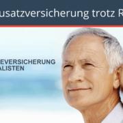 Pflegezusatzversicherung trotz Rheuma