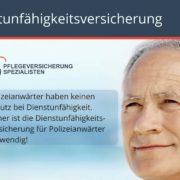 Die Pflegeversicherung Spezialisten informieren : Dienstunfähigkeitsversicherung für Polizeianwärter