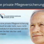Die Pflegeversicherung Spezialisten informieren : Ist eine private Pflegeversicherung sinnvoll?